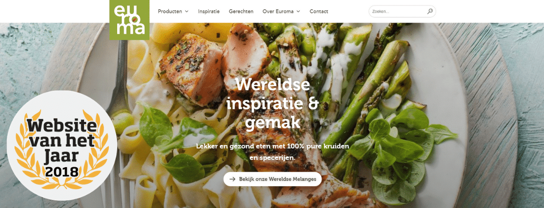 Euroma  website vh jaar  header def