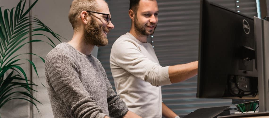 Harwin en Martijn - Interactiedesigners - UX / UI | IMPRES